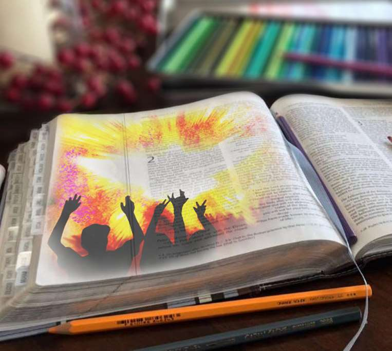 Bible Journaling - Drawing on the Word