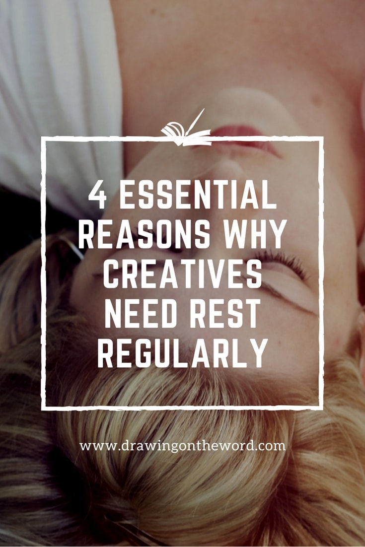 Why do creatives need rest regularly? Why is it important to observe the Sabbath? How can taking a break or sleep actually help our creativity?