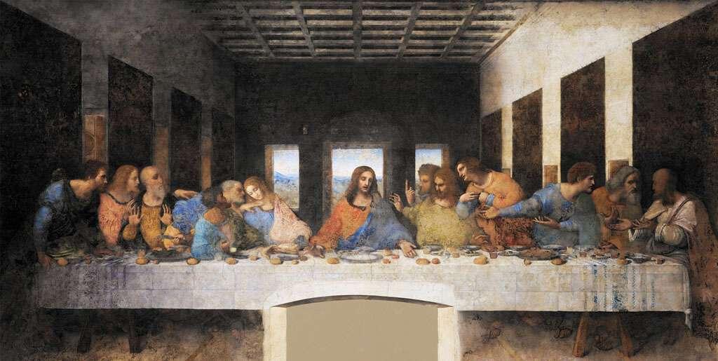 The Last Supper by Leonardo Da Vinci - The Maestro took creative rest