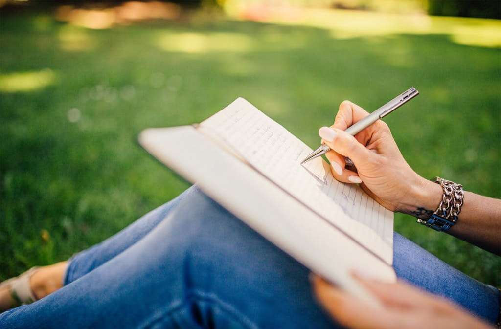 Writing a journal - Verbal-linguistic intelligence