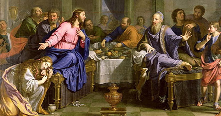 Christ in the House of Simon the Pharisee, Philippe de Champaigne,