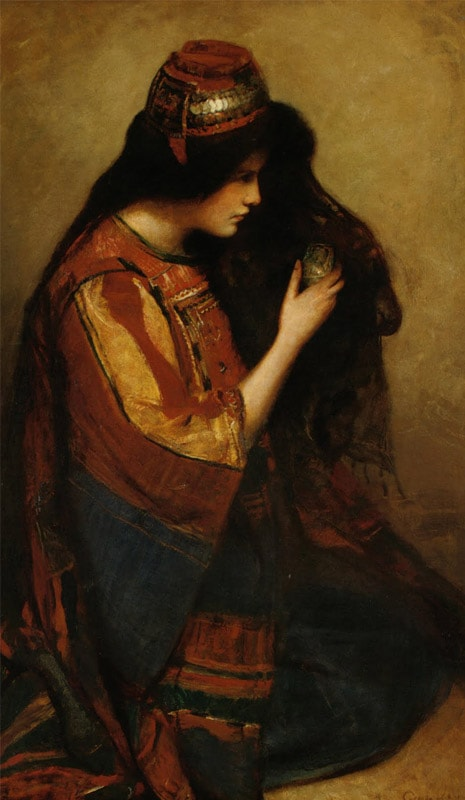 Mary of Bethany by George William Joy (1900)