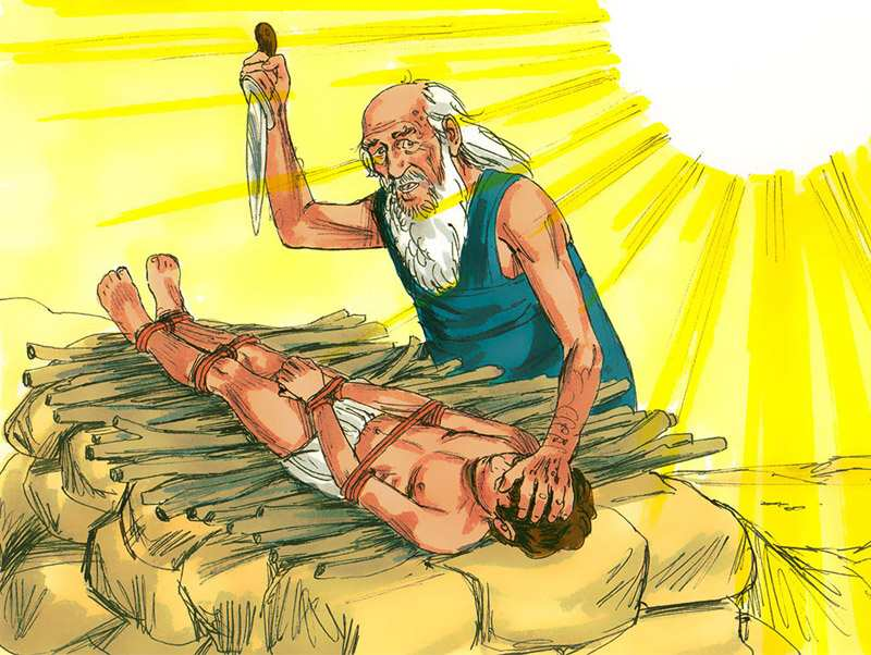 Although Abraham's prayers for a son had finally been answered, life threw him a curveball when God asked him to sacrifice Isaac