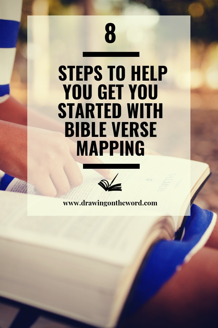 graphic relating to Verse Mapping Printable identified as 8 Techniques towards guidance oneself take started out with Bible Verse Mapping