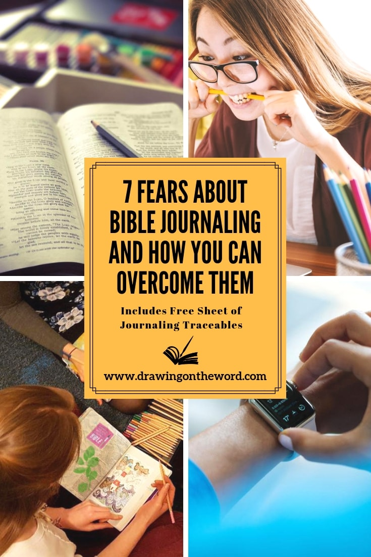 Do you have fears or reservations about Bible journaling? Read how and why to overcome them and begin your creative journey with God's word. #biblejournaling #bibleart #biblejournalingcommunity #scriptureart #biblejournal #bible #biblestudy #creativity
