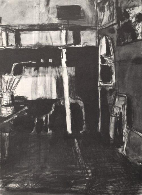 Richard Diebenkorns Ink Wash Drawings Drawing OWU