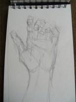 Gesture practice - hands 9