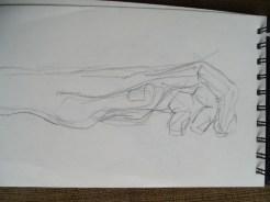 Gesture practice - hands 2