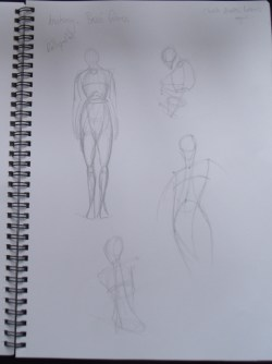 Figure sketching - Reilly method