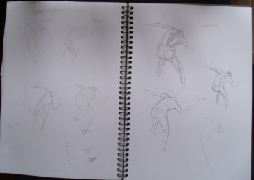 Figure sketches - form
