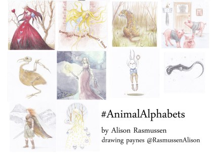 Alphabet - fairytales Q -Z