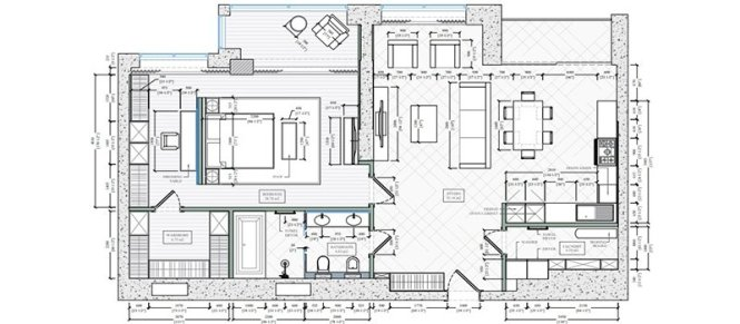 Floor Plan Services 5 Drawing Layout
