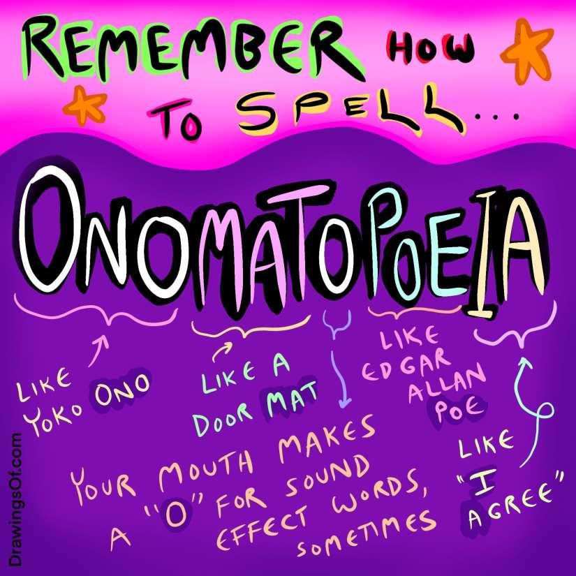 How to spell Onomatopoeia