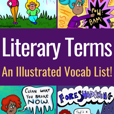 Literary Terms list