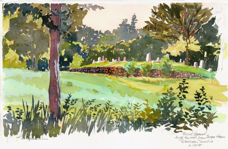 Burial Ground, Petersham