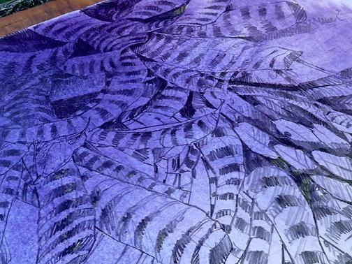 It's really a lovely purple.