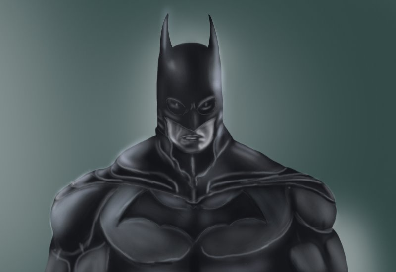 Learn How To Draw Batman Face (Batman) Step By Step