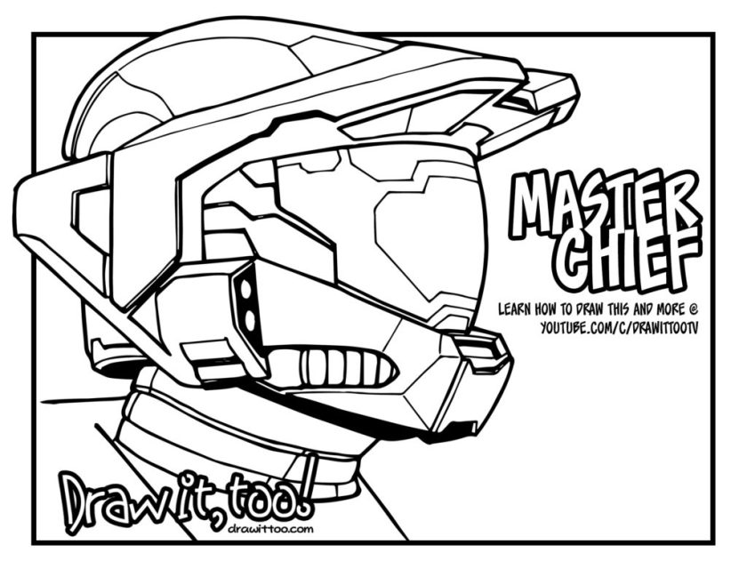 the og master chief!  draw it too!