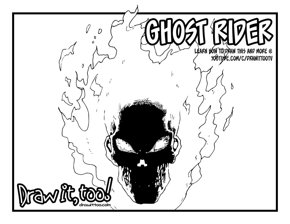 how to draw a spirit ghost