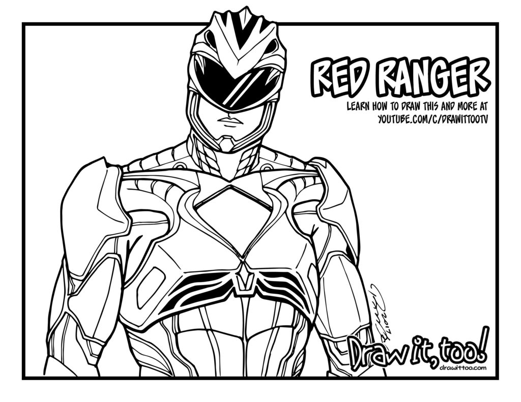 Red Ranger Power Rangers Movie