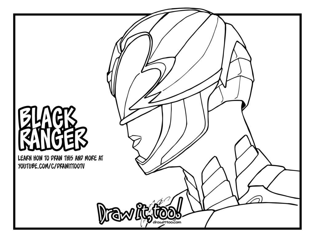Black Ranger Power Rangers Movie Tutorial