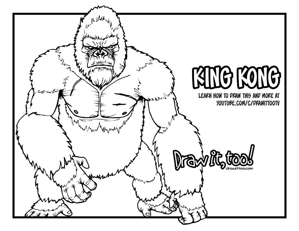 Gorilla Grodd The Flash Or King Kong Kong Skull Island Tutorial