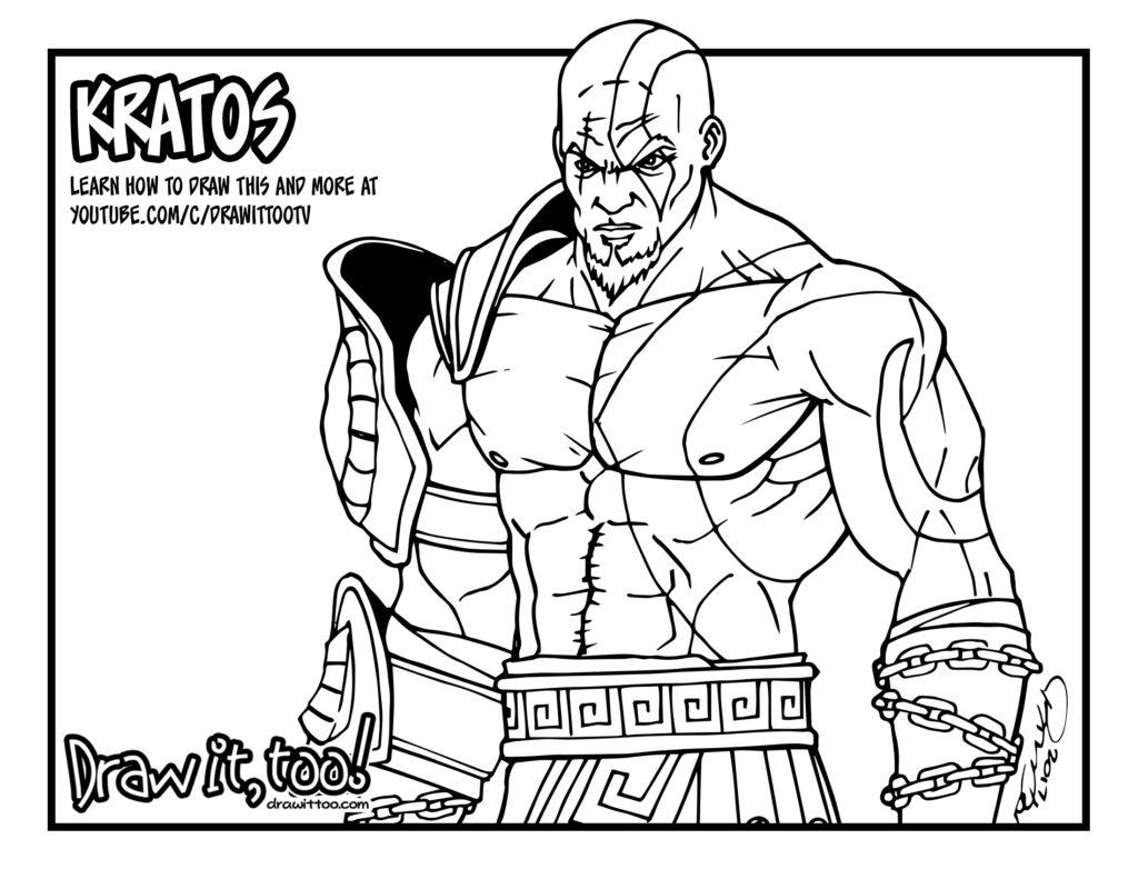 Kratos God Of War Tutorial