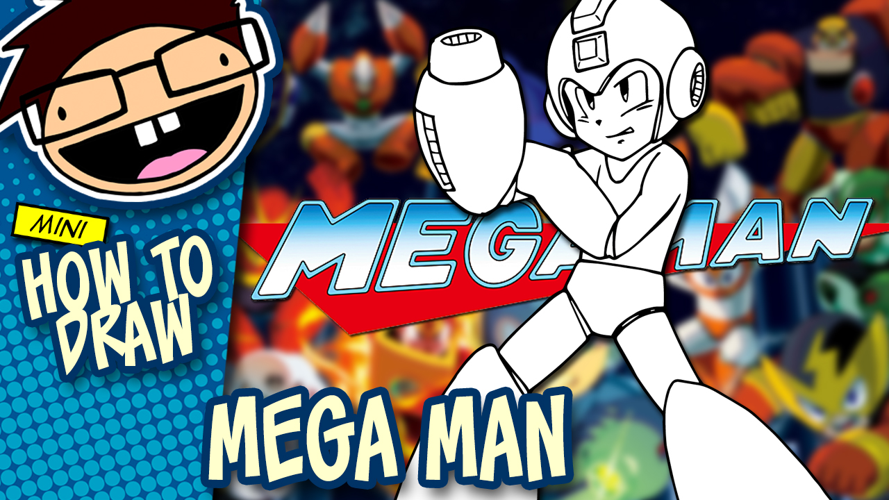How to Draw MEGA MAN (Nintendo) Drawing Tutorial