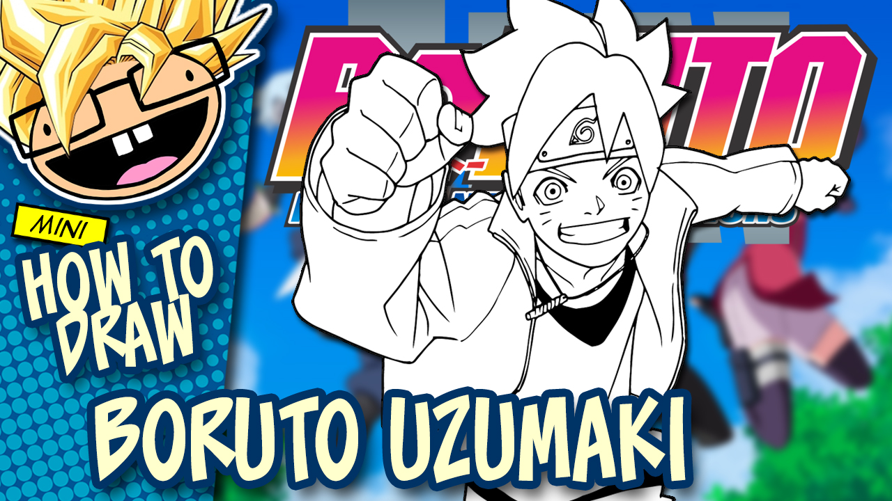 How to Draw BORUTO (Boruto: Naruto Next Generations) Drawing Tutorial