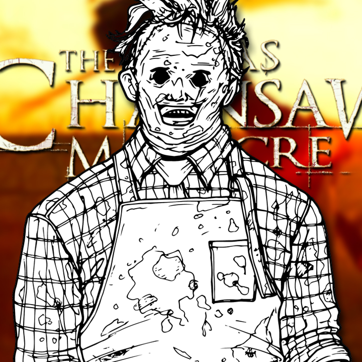 How to Draw LEATHERFACE (The Texas Chainsaw Massacre) Drawing Tutorial