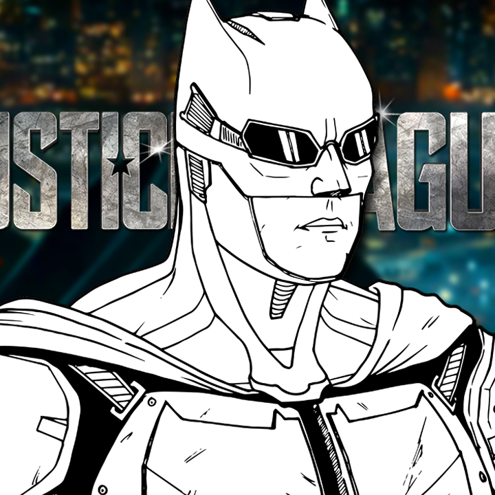 How to Draw TACTICAL SUIT BATMAN (Justice League) Drawing Tutorial
