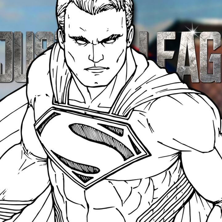 How to Draw SUPERMAN (Justice League) Drawing Tutorial
