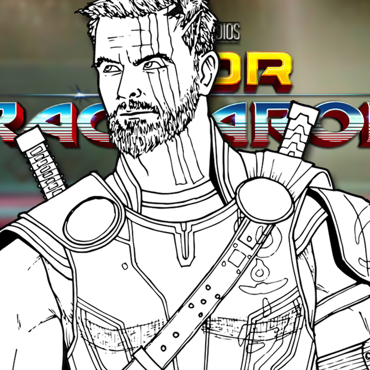 How to Draw THOR (Thor: Ragnarok) Drawing Tutorial
