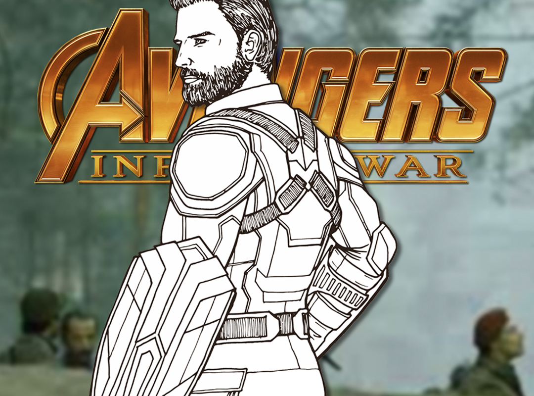 How To Draw CAPTAIN AMERICA (Avengers Infinity War) Drawing Tutorial | Draw It Too!