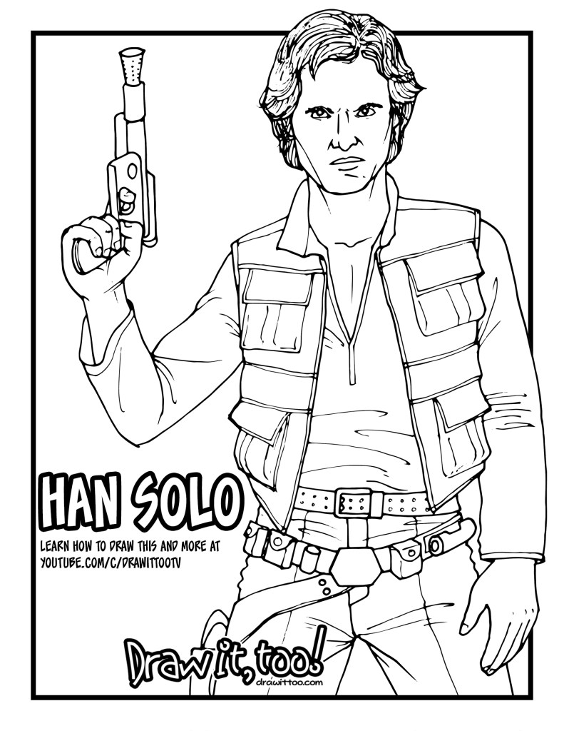 Star Wars Coloring Pages! – coloring.rocks! | 1024x791