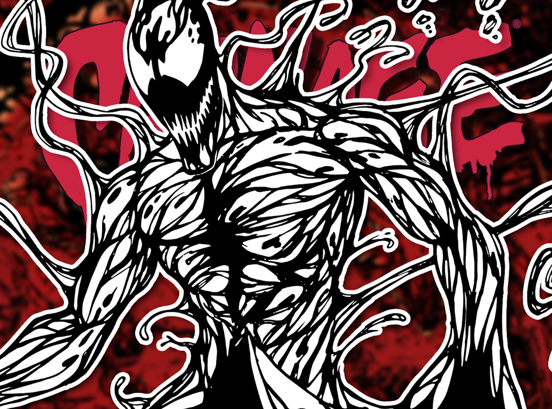 How To Draw Carnage Classic Comic Version Drawing Tutorial Draw