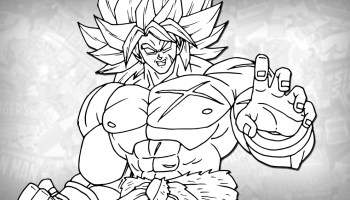 How To Draw Gogeta Dragon Ball Super Broly Drawing Tutorial