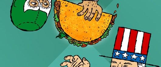 Taco Burrito Show at Super Precious Gallery