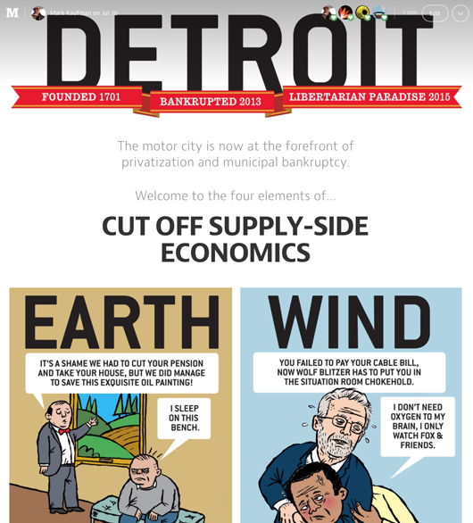 ©Mark Kaufman Detroit Water Cut Off Supply Side Economics on Medium