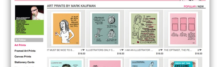Drawmark Has Set Up Shop on Society6