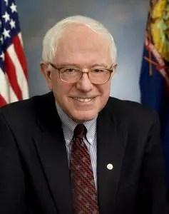 Sénateur Bernie Sanders