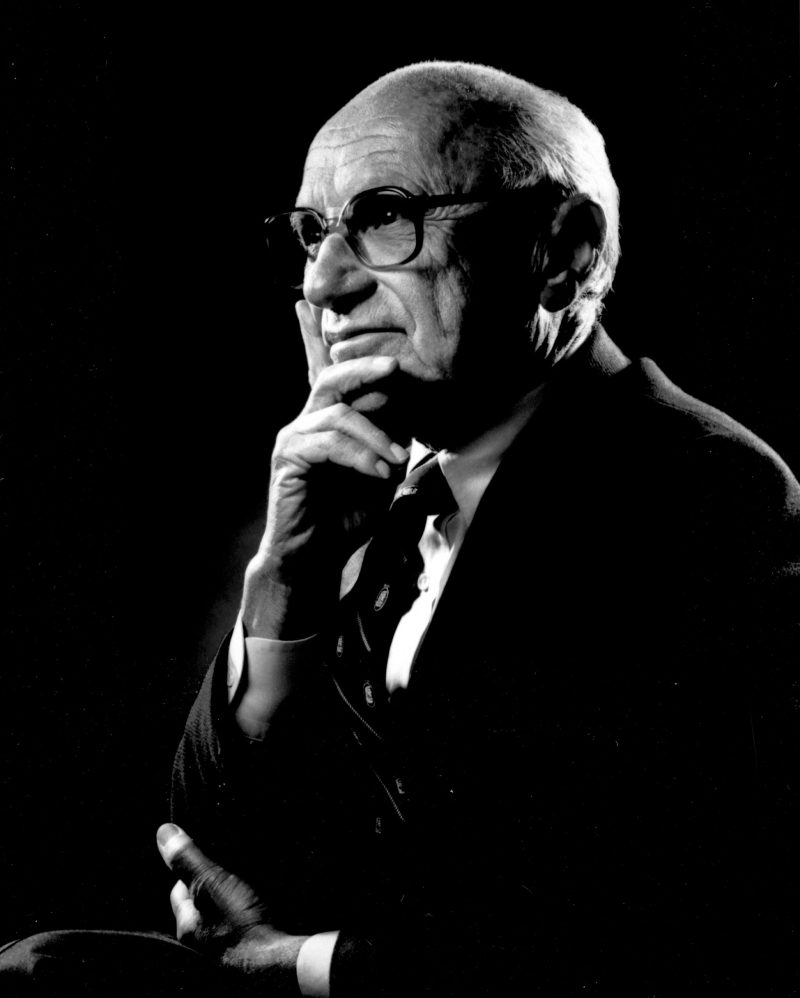 Milton Friedman, père de l'Hélicoptère Monnaie