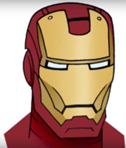 How To Draw Iron Man In 2 Options Easy And Simple