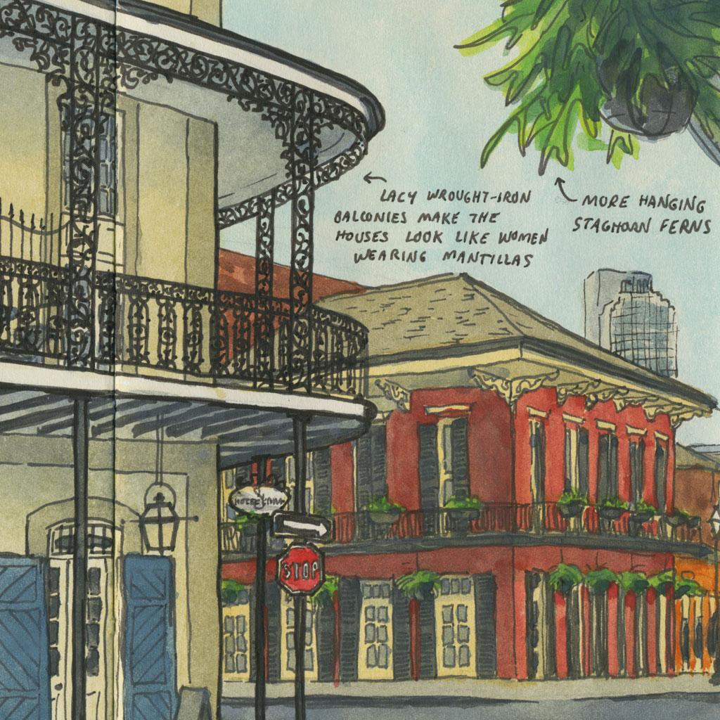 Pencil Sketch Iconic Buildings
