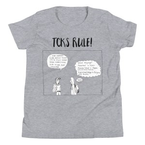 'TCKs Rule' Youth Short Sleeve T-Shirt