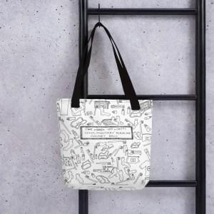 'Airline Essentials' – tote bag