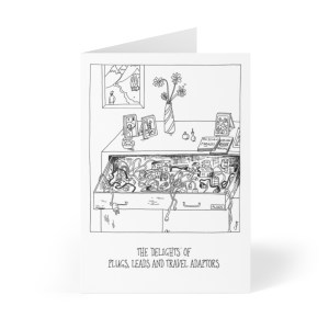 'THAT Drawer' – 6 x 4″ blank greeting card