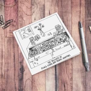 'THAT Drawer' – blank 6×6″ greeting card