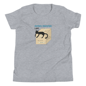 'Humans Transition. I Am' – kid's tshirt