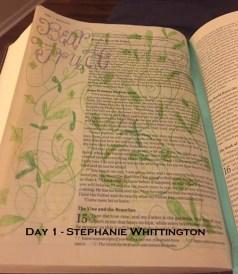 Day 1_Stephanie Whittington_blog
